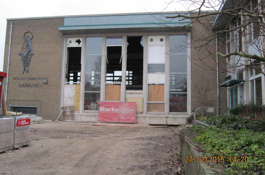 Sloop en renovatie Marianum College Groenlo