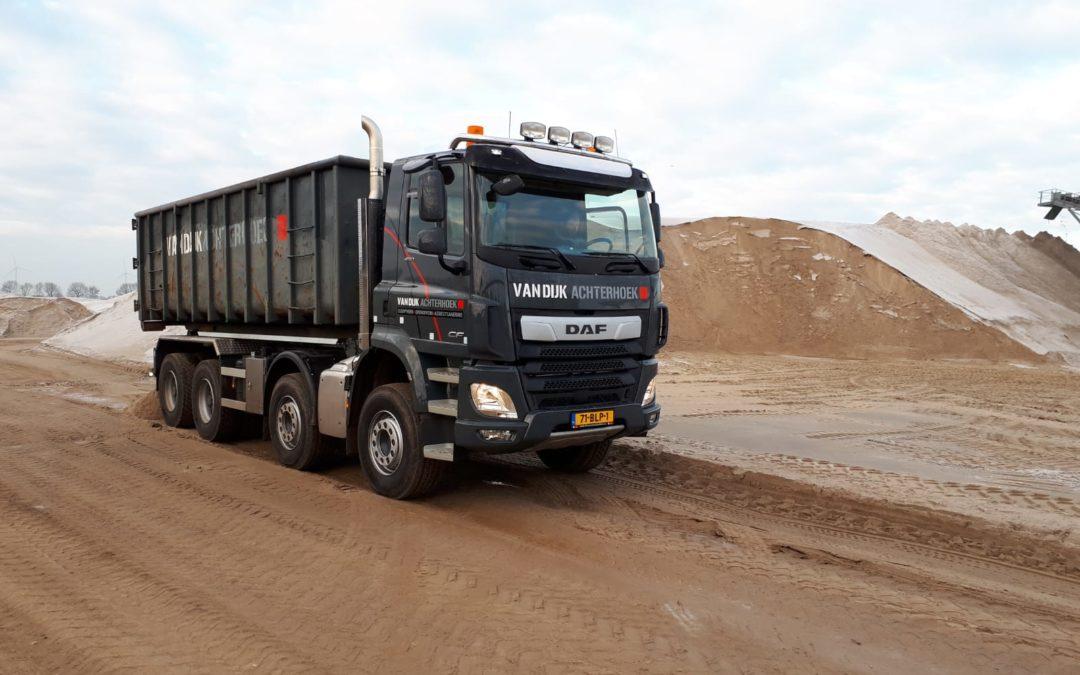 Nieuwe vrachtwagen voor Van Dijk Achterhoek